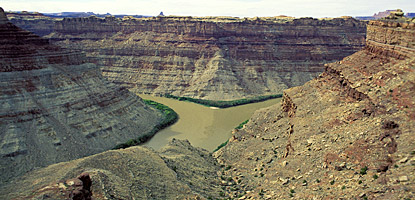 The Confluence of the Green and Colorado in Canyonlands